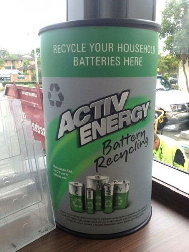 ALDI Battery Recycling