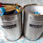 乾電池の収納アイデア!簡単!空き缶再利用で脱ごちゃごちゃ保管