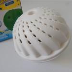 洗剤なしでも汚れが落ちるらしい!洗濯ボールを使ってみた
