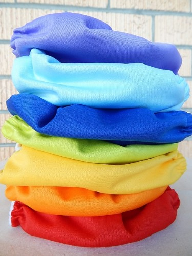 Colourful Cloth Nappies