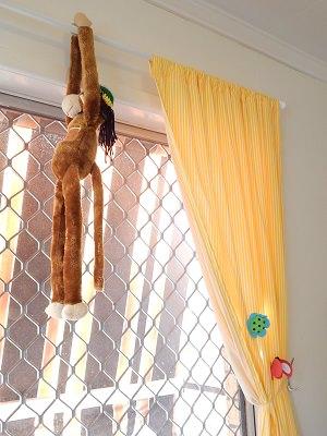 DIY Curtain Tieback4