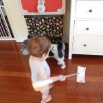 いらないフリース再利用!超簡単リメイク!手作り掃除道具の作り方