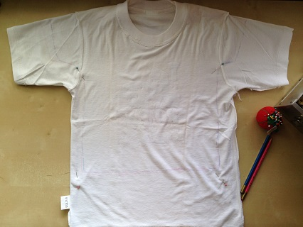 Make Kids Tshirt From Adult Tshirt2