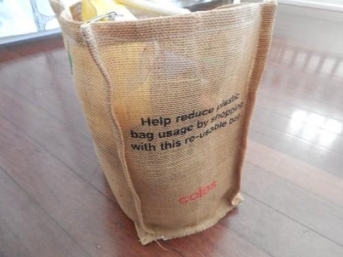 Coles Reusable Bag2