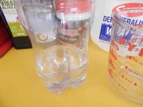 PET Bottle Soap Making1