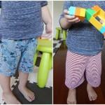 大人服を子供服にリメイク!型紙不要!キッズショートパンツの作り方
