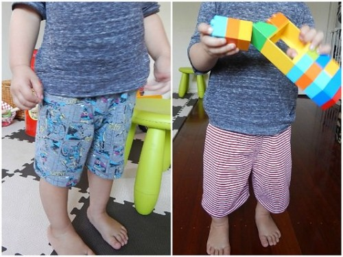 Make Kid Shorts Out of Old Clothes Featured