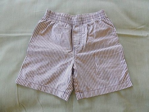 Make Kid Shorts Out of Old Clothes1