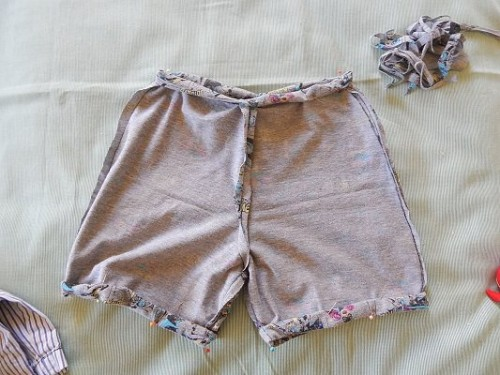 Make Kid Shorts Out of Old Clothes11