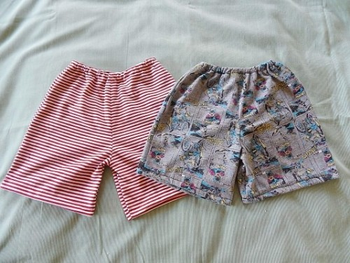 Make Kid Shorts Out of Old Clothes13