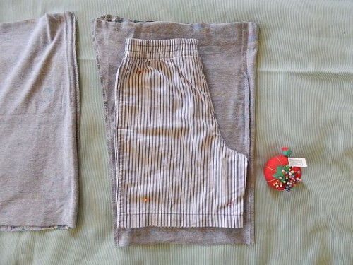 Make Kid Shorts Out of Old Clothes4