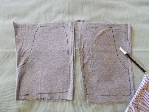 Make Kid Shorts Out of Old Clothes5