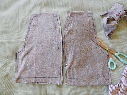 Make Kid Shorts Out of Old Clothes6
