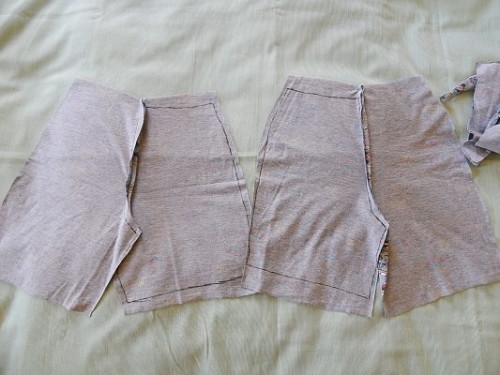 Make Kid Shorts Out of Old Clothes8