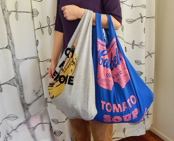 Make a bag from a tshirt9