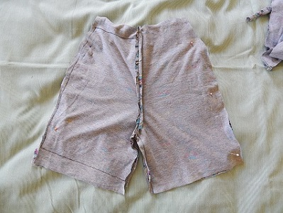 Make Kid Shorts Out of Old Clothes17