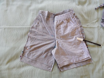 Make Kid Shorts Out of Old Clothes18