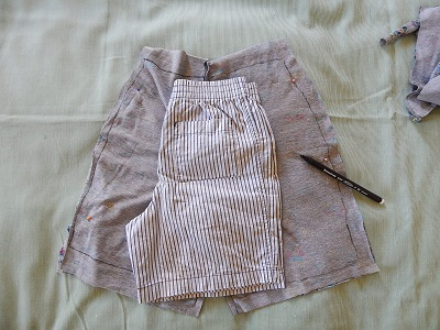 Make Kid Shorts Out of Old Clothes19