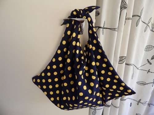 Furoshiki Style Handbag7