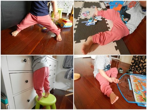 Make Kids Pants Out of Old Clothes14