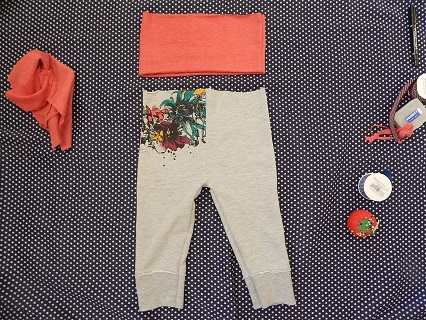 Make Kids Pants Out of Old Clothes16