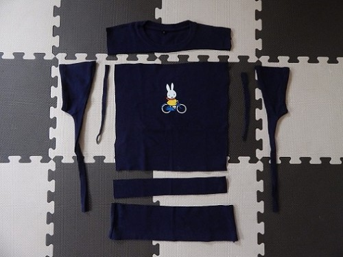 Make A Cooler Bag From A Tshirt3