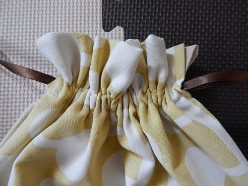 DIY Reusable Drawstring Gift Bag12