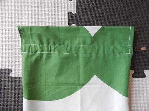 DIY Reusable Drawstring Gift Bag9