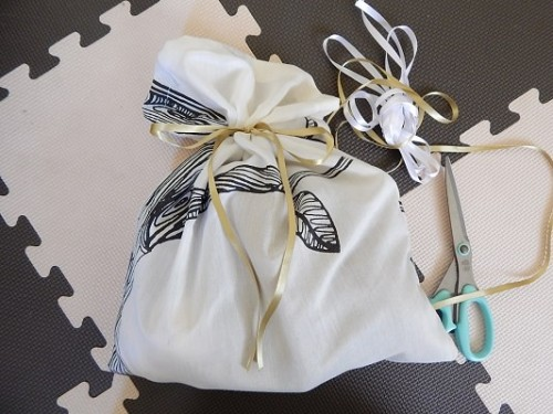 DIY Reusable Gift Bag10