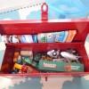 わが家のトミカ収納アイデア!小さいおもちゃは工具箱で簡単お片付け