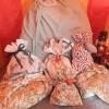 手作りクリスマスグッズ!サンタクロースの特大プレゼント袋の作り方