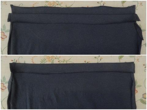 Make A Drawstring Bag From A Tshirt6