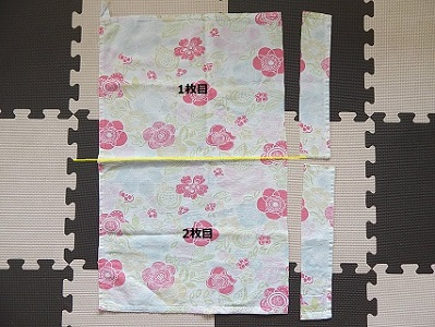How to Measure Fabric to Make a Bottom Gusset Bag4