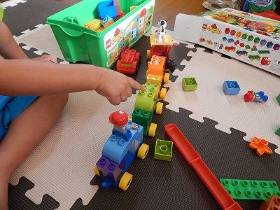 LEGO Duplo Number Train6