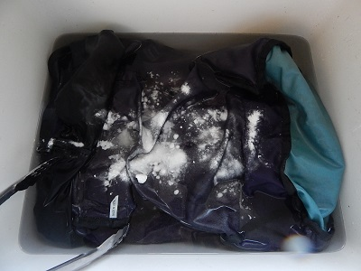 Wash And Clean A Backpack10