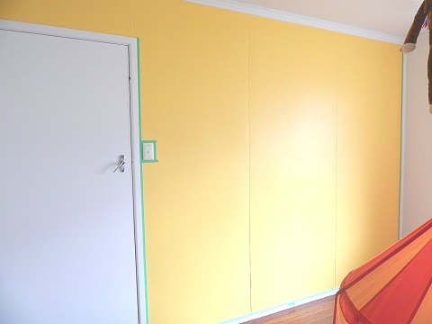 Old House DIY Painting Kids Room15