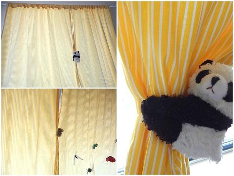 Tshirt Remake Curtain Tie Backs16