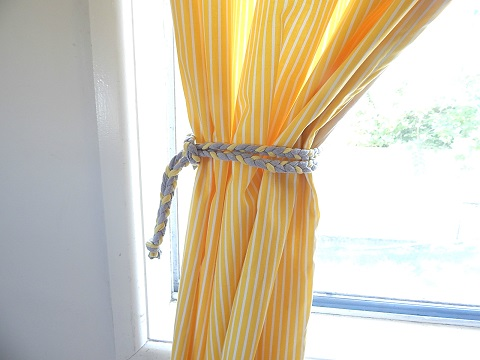 Tshirt Remake Curtain Tie Backs19