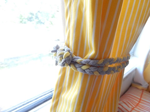 Tshirt Remake Curtain Tie Backs20