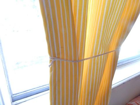 Tshirt Remake Curtain Tie Backs21