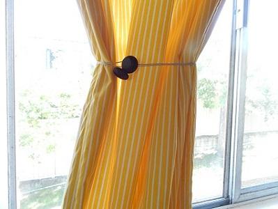 Easy DIY Curtain Tie Backs11