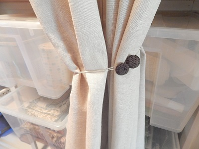Easy DIY Curtain Tie Backs12