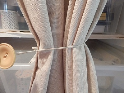 Easy DIY Curtain Tie Backs5