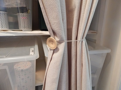 Easy DIY Curtain Tie Backs6