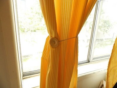 Easy DIY Curtain Tie Backs7