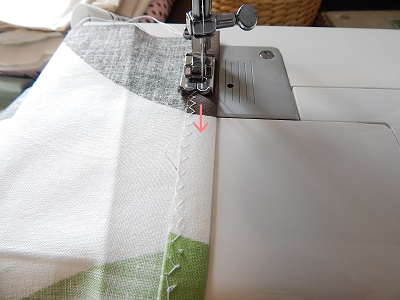 How To Sew Around The Slit5