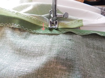 How To Sew Around The Slit6
