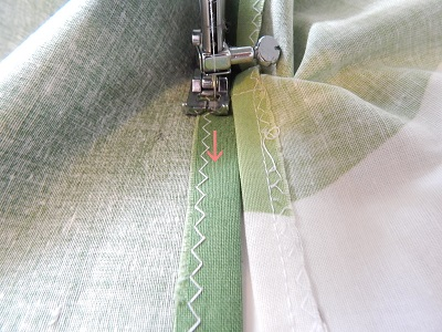 How To Sew Around The Slit7