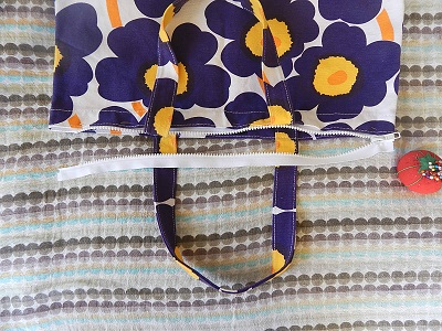 How to Add a Zipper to a Finished Bag13