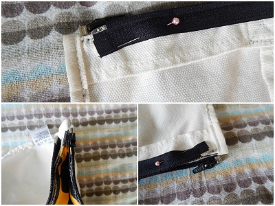 How to Add a Zipper to a Finished Bag22